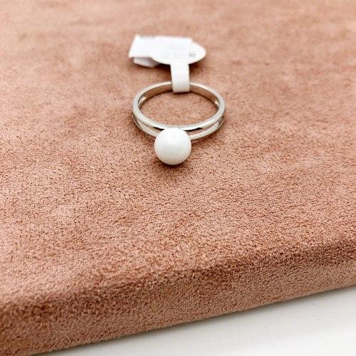 Кольцо из керамики 19 KER-0037
