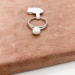 Кольцо из керамики 19 S-00110