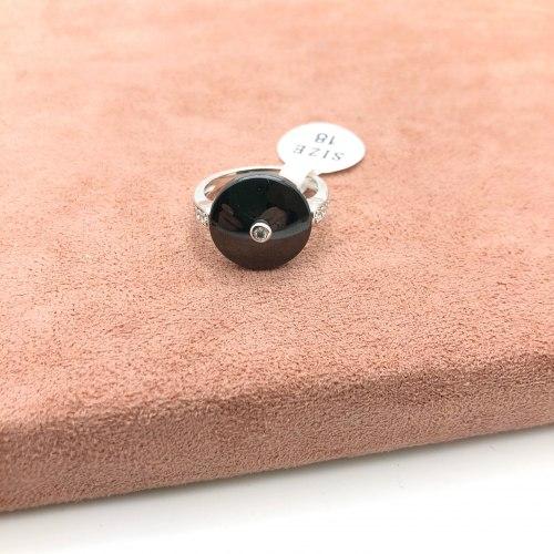 Кольцо из керамики 22 KER-0040