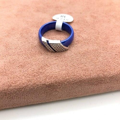 Кольцо из керамики 23 KER-0041