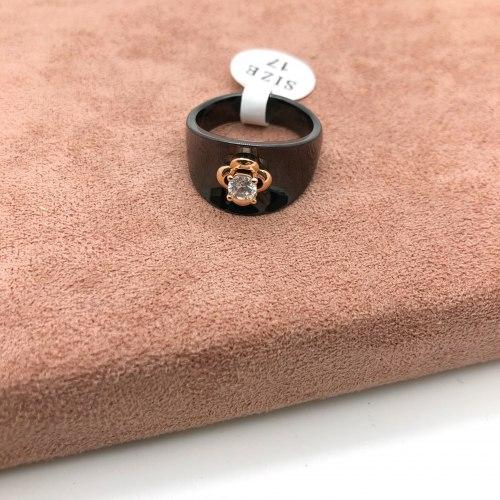 Кольцо из керамики 24 KER-0042