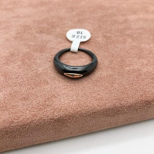 Кольцо из керамики 25 KER-0043