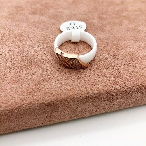 Кольцо из керамики 27 KER-0045