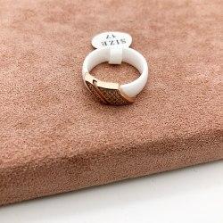 Кольцо из керамики 27 S-00118