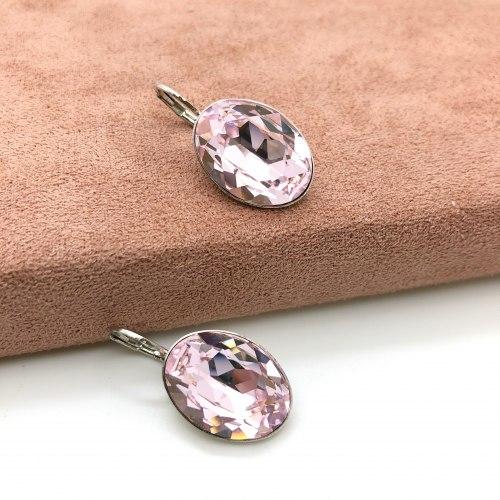 Серьги с кристаллом 65 S-00147