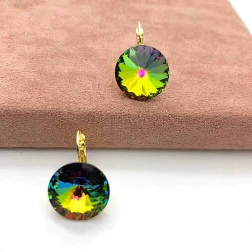 Серьги с кристаллом Сваровски 1 S-00154
