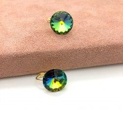 Серьги с кристаллом Сваровски 17 S-00170