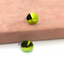 Серьги с кристаллом Сваровски 19 S-00172