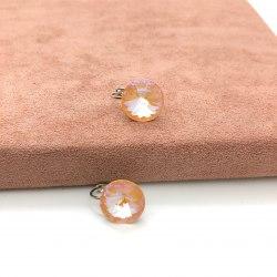 Серьги с кристаллом Сваровски 25 S-00178