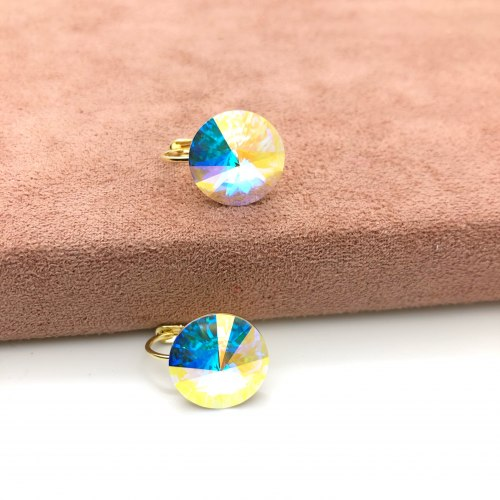 Серьги с кристаллом Сваровски 27 S-00180