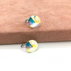 Серьги с кристаллом Сваровски 28 S-00181