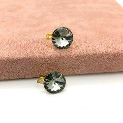 Серьги с кристаллом Сваровски 29 S-00182