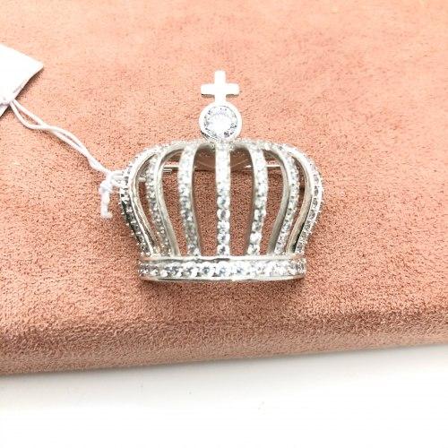Брошь Корона 1 В-0011
