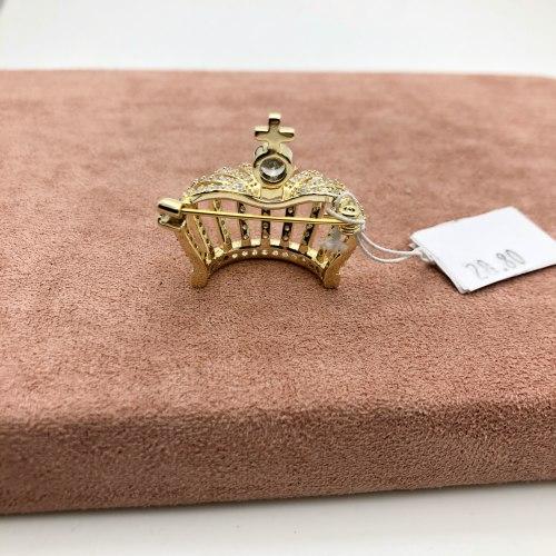 Брошь Корона 2 В-0022