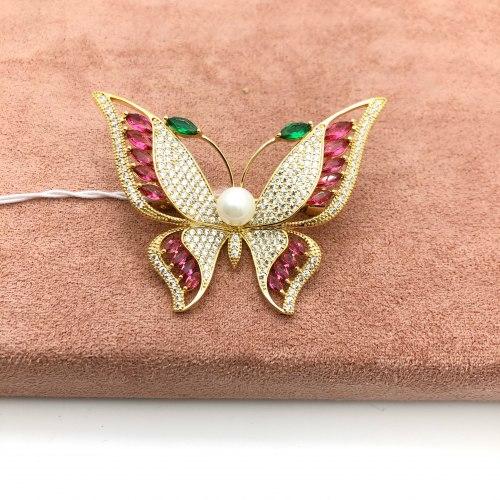 Брошь Бабочка 5 В-0041