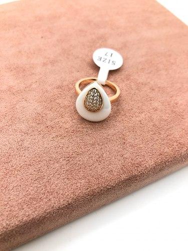 Кольцо из керамики 32 KER-0058