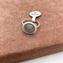 Кольцо из керамики 33 KER-0062