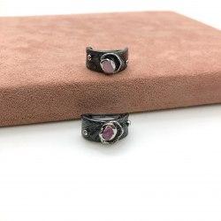 Серьги с натуральными камнями 4 S-00201