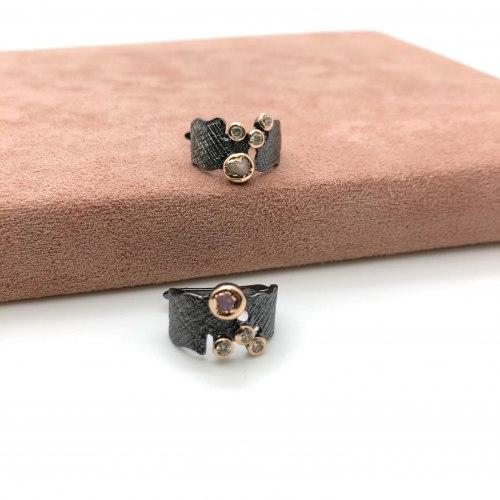 Серьги с натуральными камнями 6 S-00203