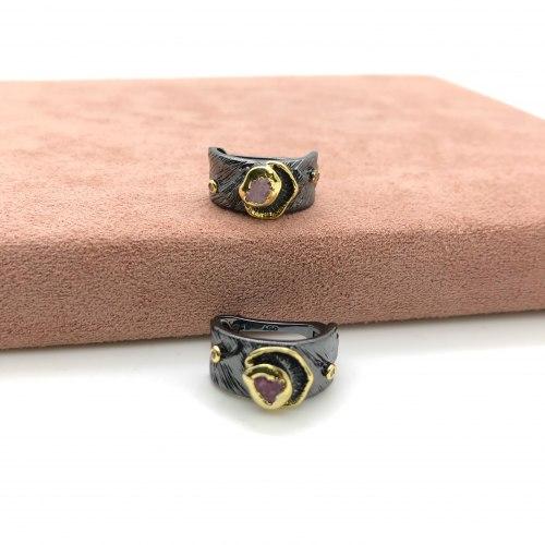 Серьги с натуральными камнями 9 S-00206