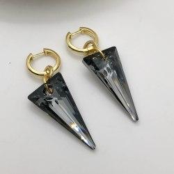 Серьги с кристаллами Сваровски 39 S-00219