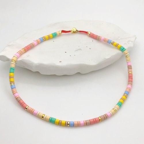 Колье из керамики 1 KO-0011