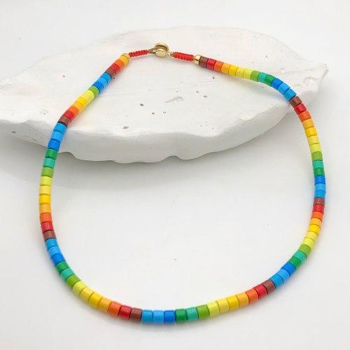 Колье из керамики 2 KO-0012