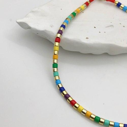 Колье из керамики 5 KO-0015