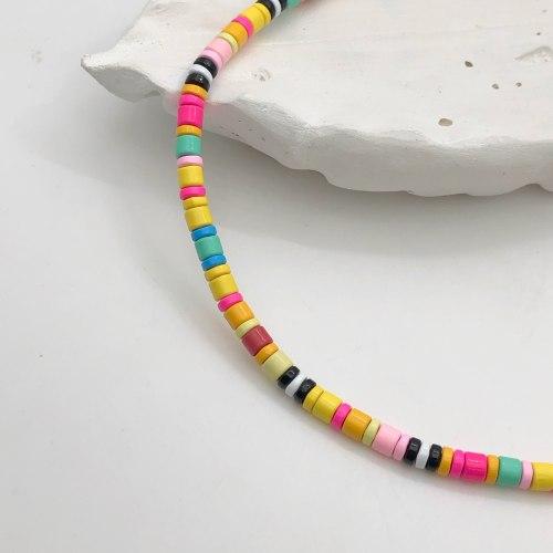 Колье из керамики 8 KO-0018