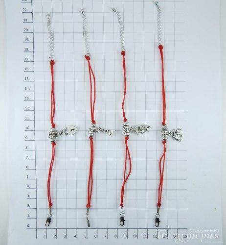 Браслет Красная нить bc-072