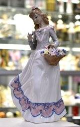 """Статуэтка """"Девушка с корзинкой"""" Pavone art.10172"""