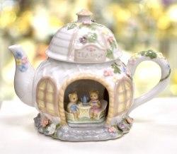 """Сувенир """"Музыкальный чайник бол."""" Pavone art.10168"""
