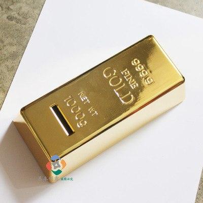 """Копилка """"Слиток золота"""" ks-128"""