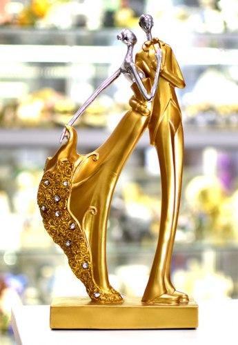 "Статуэтка ""Пара в желтом"" art.10202"