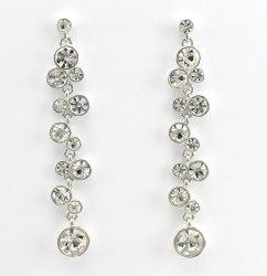 Серьги в серебре-5 s-138