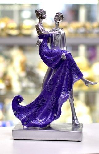 Статуэтка Пара в фиолетовом art.10222