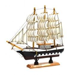 Модель Парусника (черный) 23*22 см art. 10226