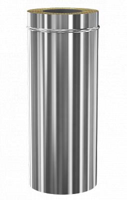 Сэндвич дымоход Теплодар ду-150/200 нж/зерк L=500