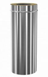 Сэндвич дымоход Теплодар ду-115/200 нж/зерк L=500