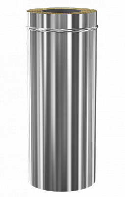 Сэндвич дымоход Теплодар ду-115/200 нж/зерк Профи L=1000