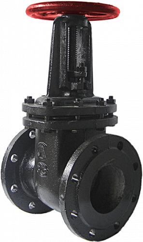Задвижка чугунная паралельная СЛМЗ 30ч6бр ду125мм ру16 кгс/см