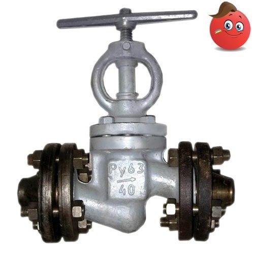 Вентиль (клапан) стальной 15с52нж(27нж) ду40мм ру63кгс/см