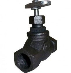 Вентиль чугунный муфтовый 15кч18п (15кч33п) ду25мм ру16кгс/см
