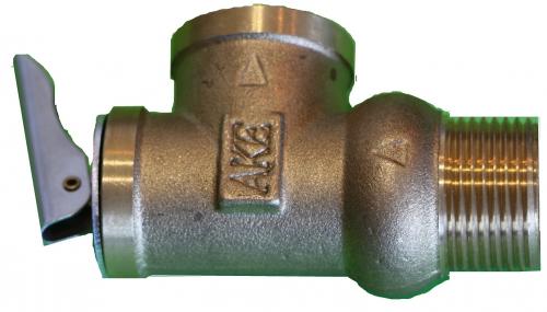 Предохранительный клапан ду25 мм давление сброса 2.0 кгс/см
