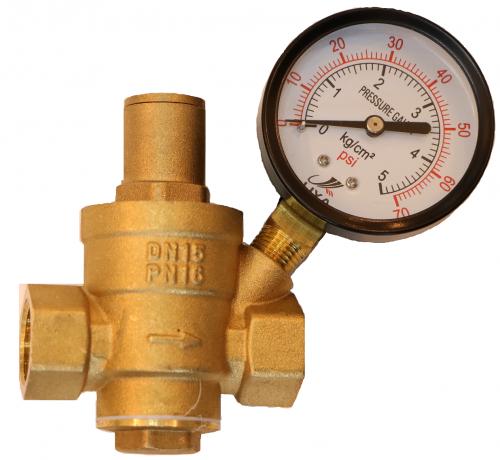 Регулятор давления воды после себя ду15мм