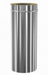 Сэндвич дымоход Теплодар ду-150/200 нж/зерк L=1000
