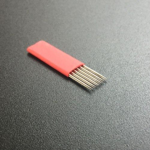 Игла для микроблейдинга Прямая 6-X-3R 3D