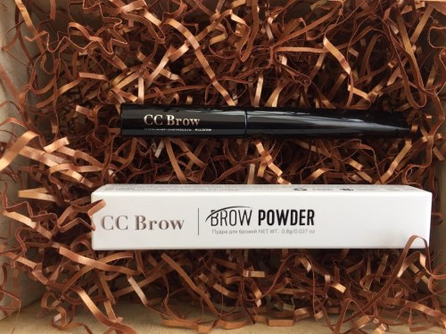 Пудра для бровей Brow Powder Lucas Cosmetics (BLONDE), ЦВЕТ РУСЫЙ