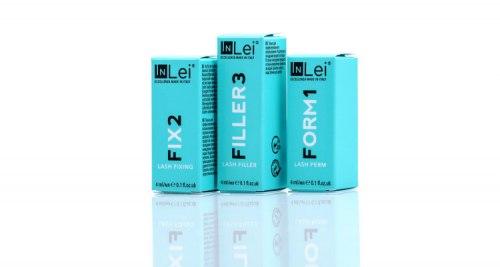 Набор составов для ламинирования ресниц и бровей 4ml Флакон In Lei