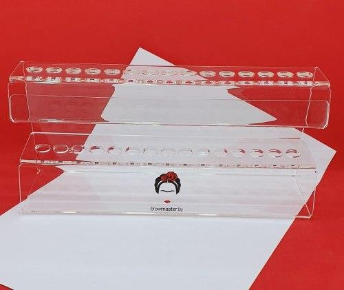 Вертикальная подставка для 15 кистей Browmaster.by